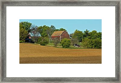 Beans Are Ready Framed Print by Edward Peterson