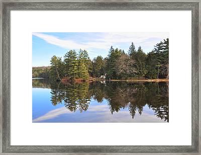 Bear Creek Lake Framed Print