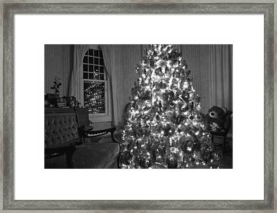 Bear In A Country Home Framed Print by Betsy Knapp