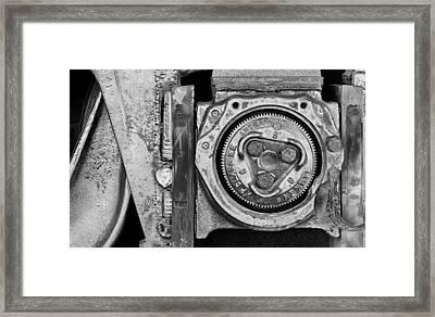 Bearing The Weight Framed Print by Donald Schwartz