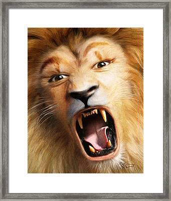 Beast Framed Print by Bill Fleming