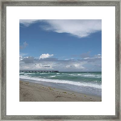 Beatiful Beach Framed Print