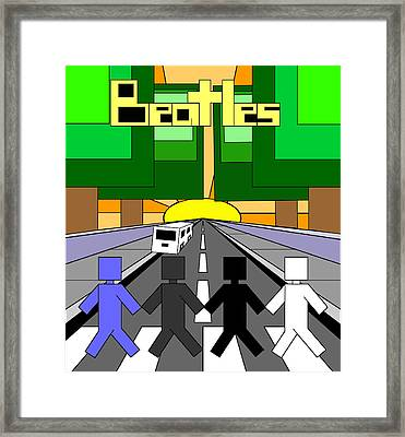 Beatles Abby Road Framed Print by Brian Roberts