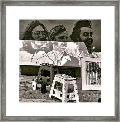Beatles I Framed Print by Chuck Kuhn