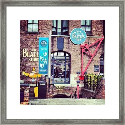 #beatles #thebeatlesstory #thebeatles Framed Print