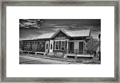 Beatniks In Black And White Framed Print by Bill Tiepelman