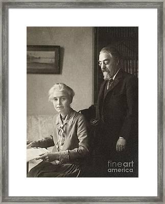 Beatrice Webb (1858-1943) Framed Print by Granger