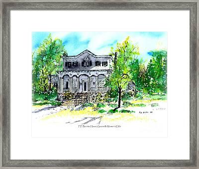Beattie House Framed Print