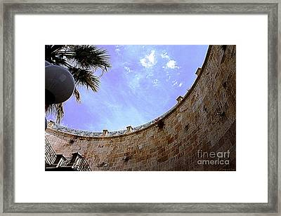 Framed Print featuring the photograph Beau Ciel Vrai Ciel by Mariana Costa Weldon