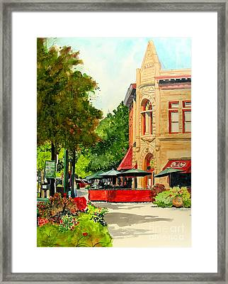 Beau Jo's Down Low Framed Print by Tom Riggs