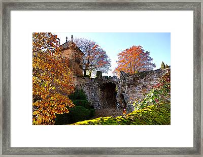 Beaune Gate Framed Print by Michael Dantuono