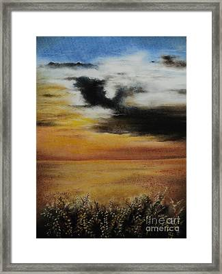 Beautiful Beginnings Framed Print by Carla Carson
