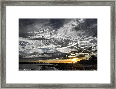 Beautiful Days End Framed Print