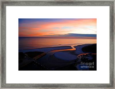 Beautiful End Framed Print by Linda Mesibov