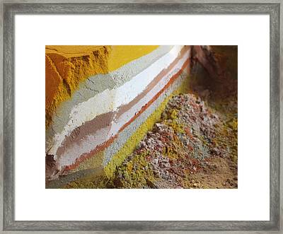 Beautiful Flavors Framed Print by Tia Anderson-Esguerra