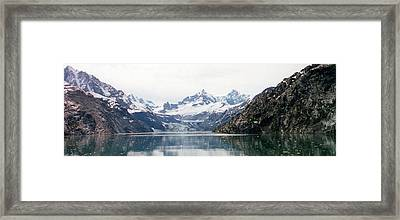 Beautiful Glacier Bay Framed Print