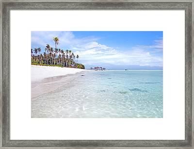 Beautiful Island Framed Print by Danny Chu Wen Hing