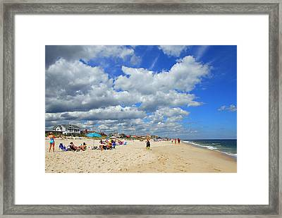 Beautiful Jersey Shore Framed Print