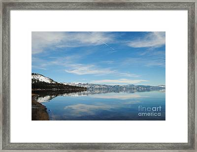 Beautiful Lake Tahoe Framed Print