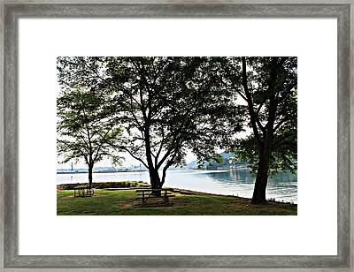 Beautiful Landscape Framed Print by Jenny Senra Pampin