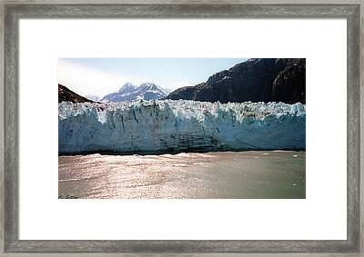 Beautiful Margerie Glacier Framed Print