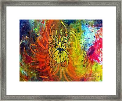 Beautiful Mistake Framed Print