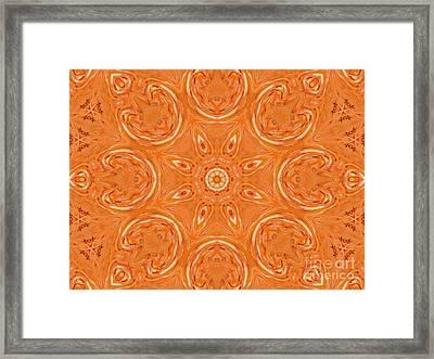 Beautiful Orange Framed Print by Jeannie Atwater Jordan Allen