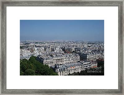 Beautiful Paris Framed Print by David Peters