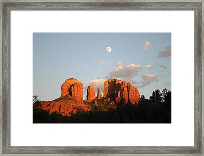 Beautiful Photography - Sedona Landscape Framed Print by Earl Bowser