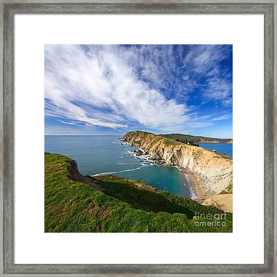 Beautiful Point Reyes Scenic Framed Print