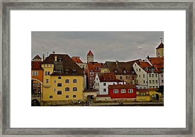 Beautiful Regensburg Framed Print by Kirsten Giving