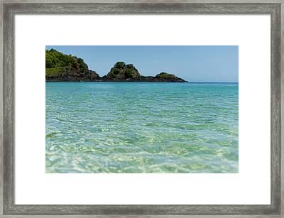 Beautiful Sea Waves Framed Print by Gus Takatori
