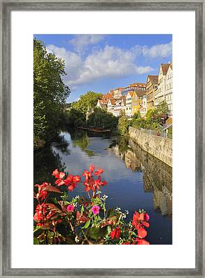 Beautiful Tuebingen In Germany Framed Print