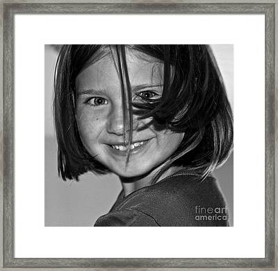 Beautifully Candid Framed Print