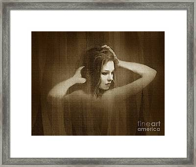 Beautifying Framed Print by Robert Foster