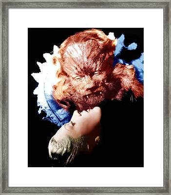 Beauty And The Beast, Aka La Belle Et Framed Print