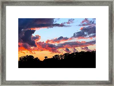Beauty Before The Beast Framed Print by Mike Stouffer