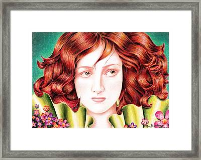 Beauty Framed Print by Muna Abdurrahman