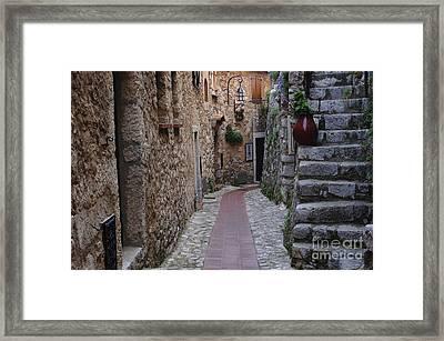 Beauty Of Eze France Framed Print by Bob Christopher