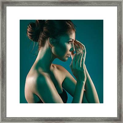 Beauty Framed Print by Pavlo Kolotenko