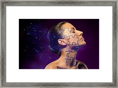 Beauty Puzzles Framed Print by Pavlo Kolotenko