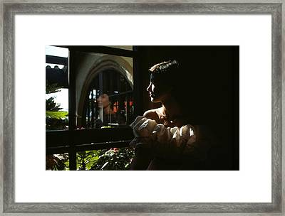 Beauty Reflected 2 Framed Print by Roy Williams