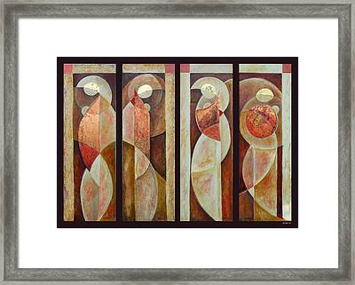Beauty Series Framed Print by Leslie Marcus