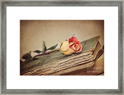 Beauty With Age Framed Print by Cheryl Davis