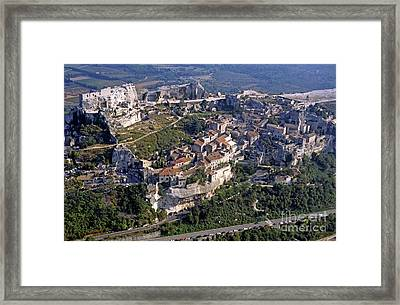 Beaux-de-provence Village Framed Print