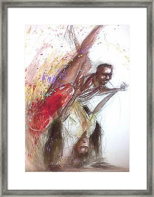 Bebop Dancers Framed Print