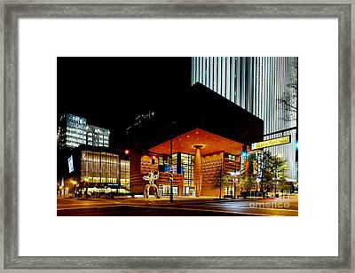 Bechtler Firebird At Night Framed Print by Patrick Schneider