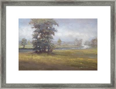 Beckon Framed Print