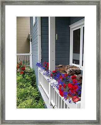 Framed Print featuring the photograph Bed And Breakfast by Robin Regan