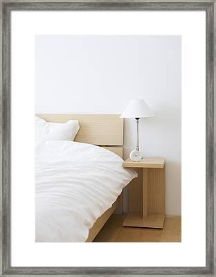 Bed Room Framed Print